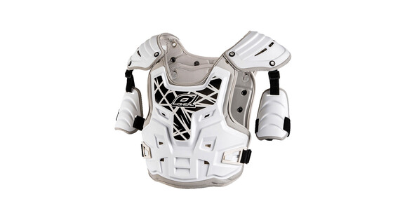 ONeal PXR Stone Shield Chest Protector Men white